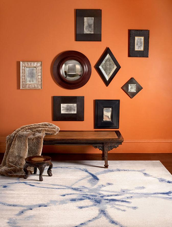 Flower Blue - Fort Street Studio Collection