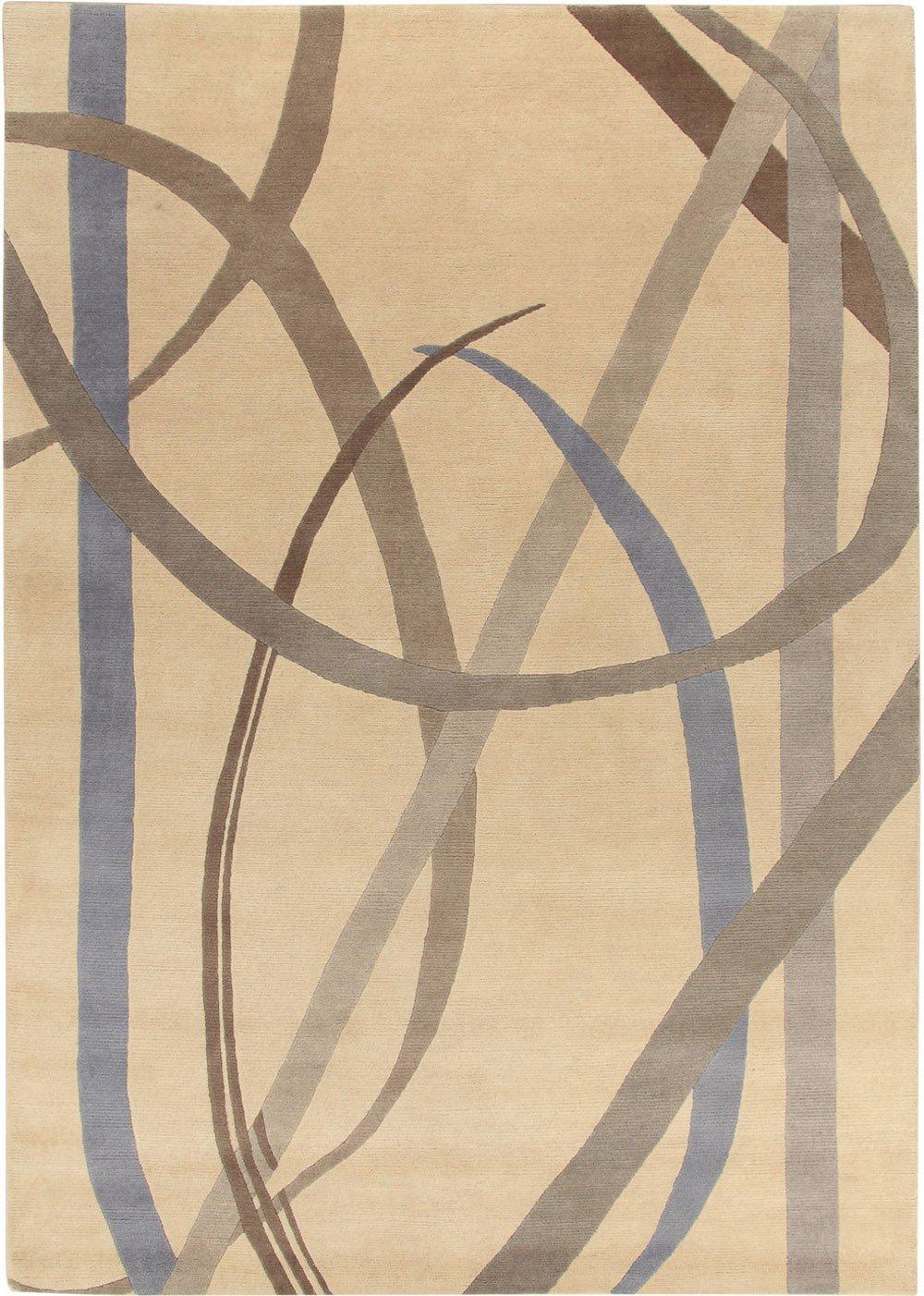 La Datina lettera disegnata carpet Gio Ponti
