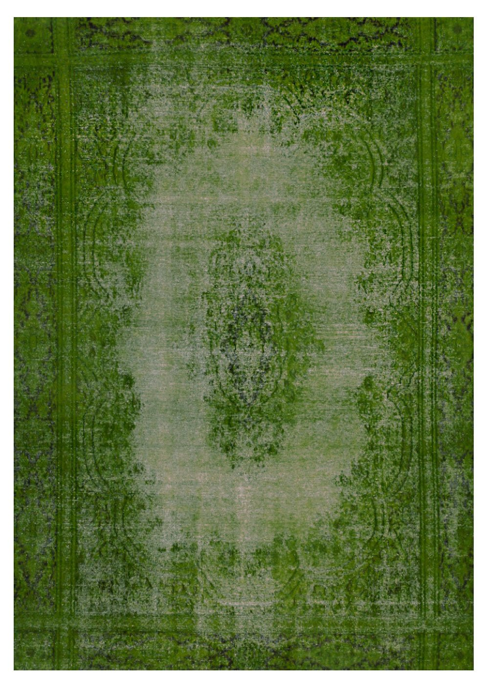 La Datina -tappeto vintage verde